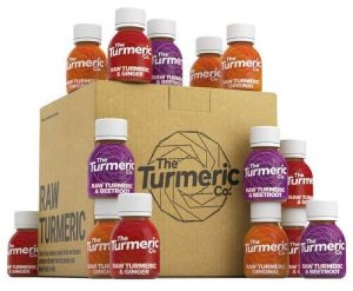 The Turmeric Co.'s core range.