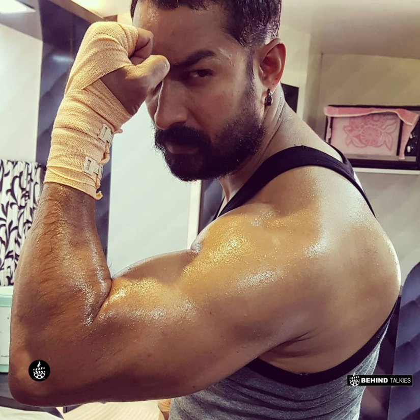Amit Tiwari Bigg Boss - Gym Workout