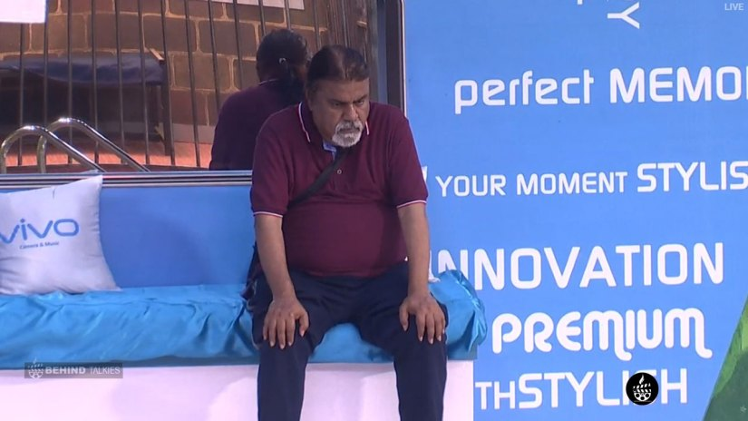 Ananth sad in Bigg Boss House