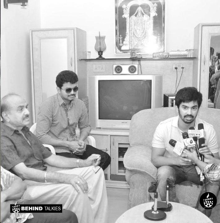 Mahat Jilla Press Meet along with Vijay