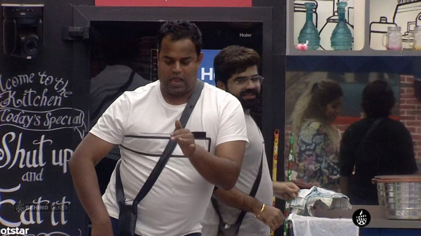 Manoj Dancing Mode Bigg Boss House