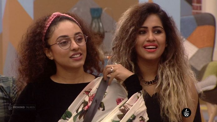Pearle Maaney and Ranjani in Bigg Boss House