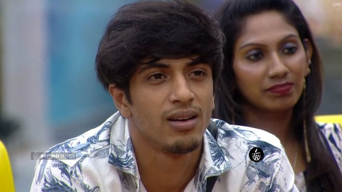 Shariq in Bigg Boss House