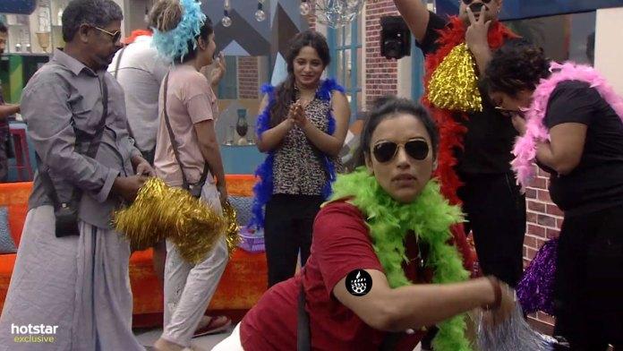 Shweta Menon In Bigg Boss House Task
