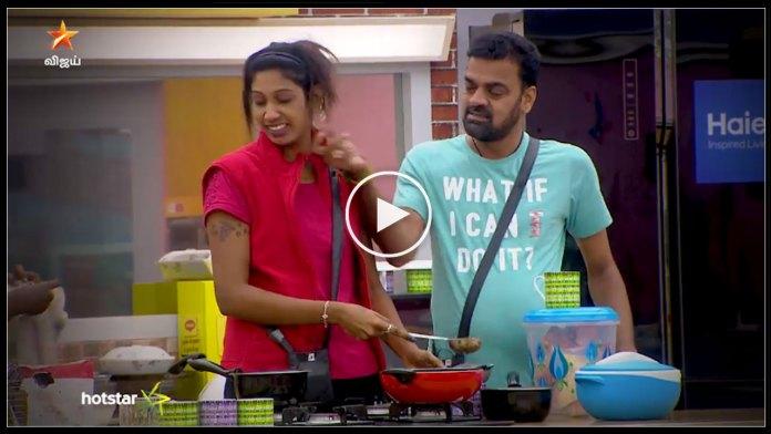 Thadi balaji and Nithya