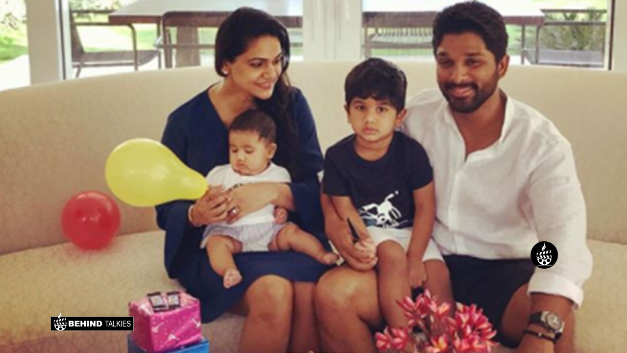 Allu Arjun Family - Behind Talkies
