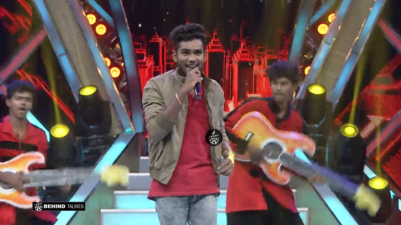 Sam Vishal Super Singer