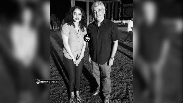 Abhirami with Thala Ajith