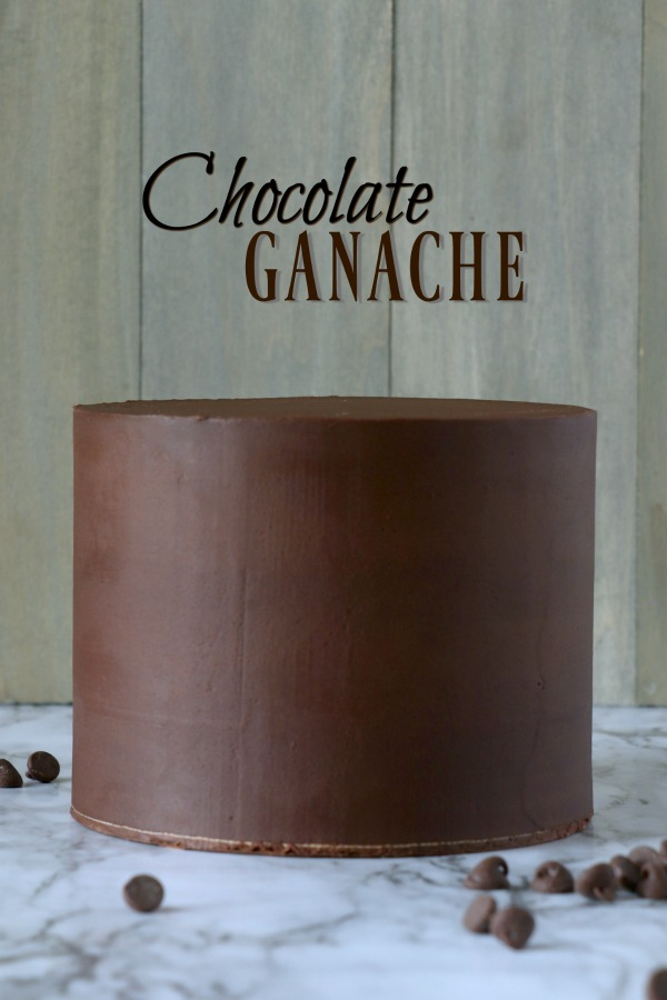 Behind the Cake ~ Chocolate ganache recipe for cakes step by step video tutorial