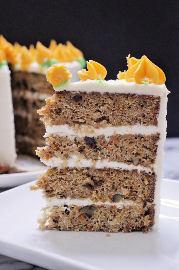 Behind the Cake ~ Pastel de zanahoria con piña