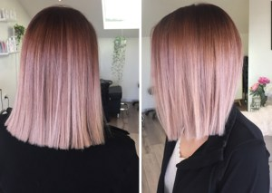 Rose Gold Ombre Behindthechair Com