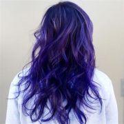 blue violet twist