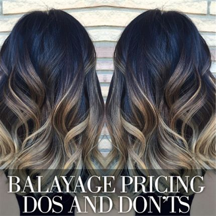 The Dos And Don Ts Of Balayage Pricing Typical Balayage