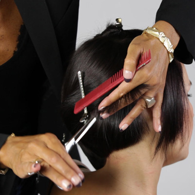 Elevate above 90 degrees, and point cut the ends aggressively, removing weight and creating a soft, broken outline