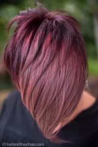 best violet haircolor formulas violet metallic