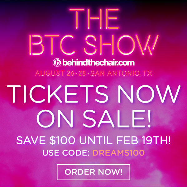 THE BTC SHOW banner tickets on sale save 100