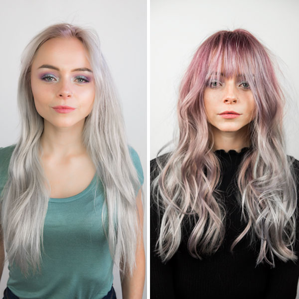 prelighten pre-tone lightener how-to metallics pastels before and after how-to