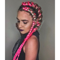 Fast Video How To For Creating An Edgy Braided Festival Style