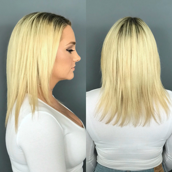 Hair talk extensions lengths