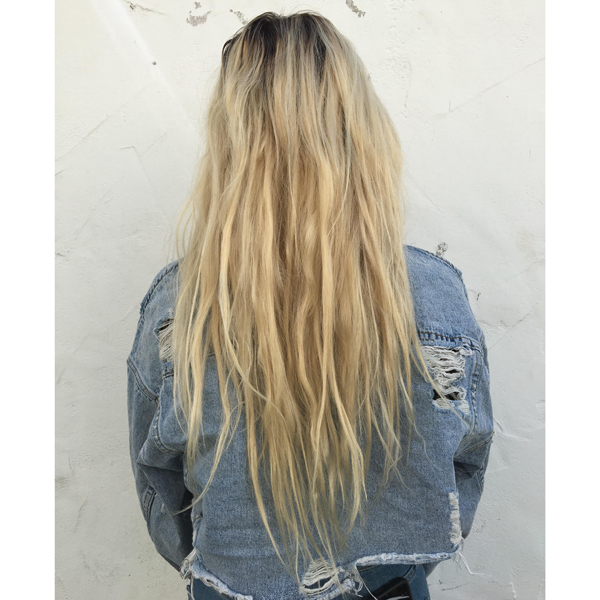 bleach and tone double process justin anderson @neriahfisher olaplex blonde