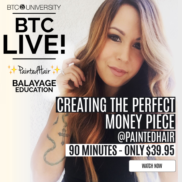 Paintedhair Live Stream Balayage Hair Painting Education