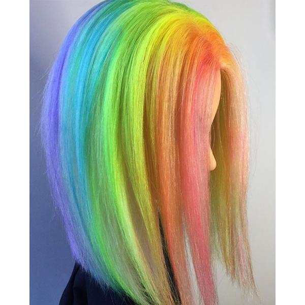 Taylor Rae Drip Dye Technique PRAVANA VIVIDS Steps Video How-to Viral Instagram Color Formulas