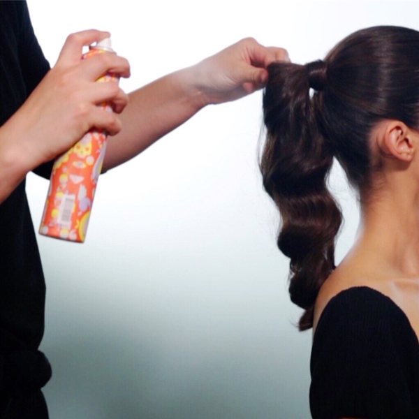 Sleek + Glam Ponytail How-To Step 9