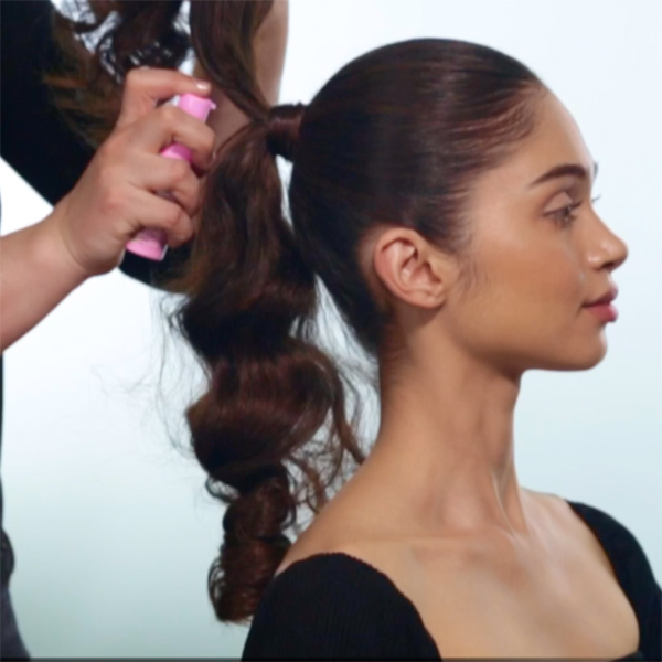 Sleek + Glam Ponytail How-To Step 8