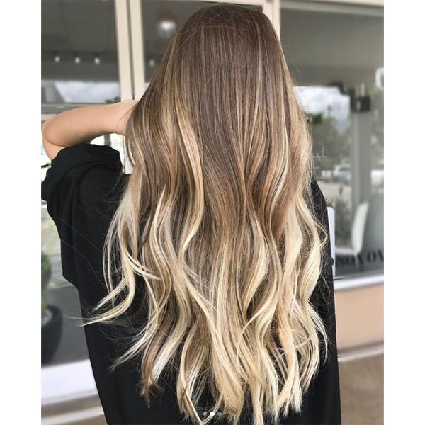caramel balayage hairstyle