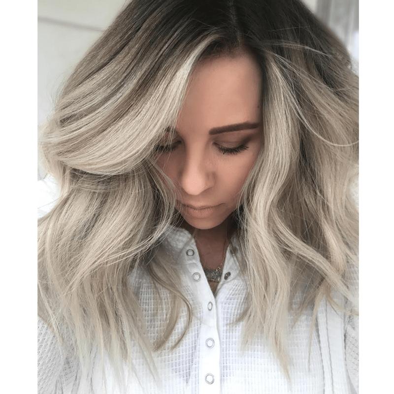 shadow root blonde color formulas babylights jamie park @hairbyjpark