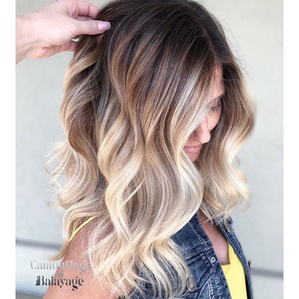 Wet Balayage Amp Gray Coverage Haircolor Behindthechair Com