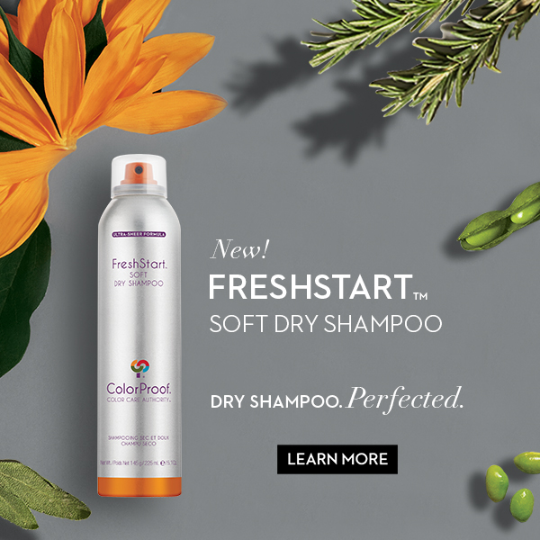 2018 Freshstart Soft Dry Shampoo Banner