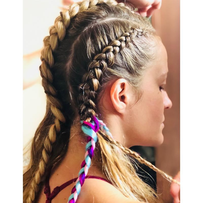 Matrix Artists Style Festival Hair Burning Man