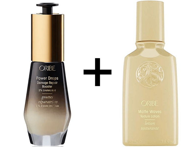 Oribe Power Drops Styling Quickie Video How-Tos Texture Product Cocktails