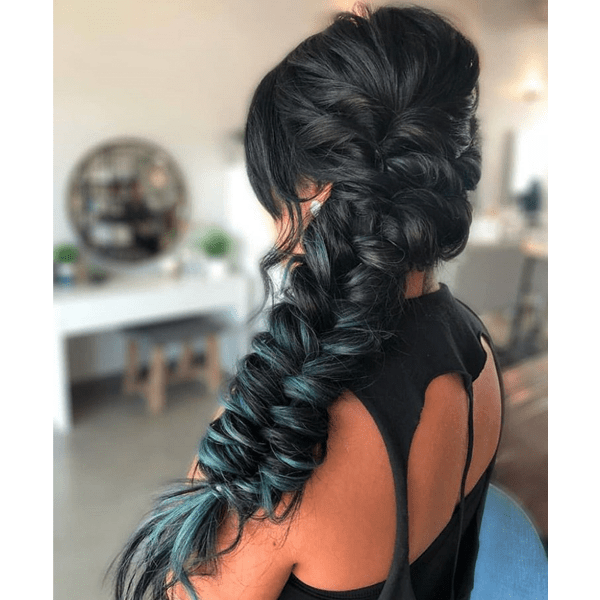 @michellehair braiding fast video how-to amika fishtail braid twists styling bridal hair festival hair