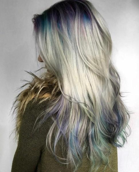 Fashion hair color ends by @lzhouseofhair