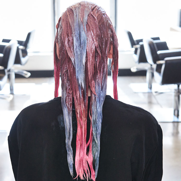 pastel color melt iced rose joico how to step by step