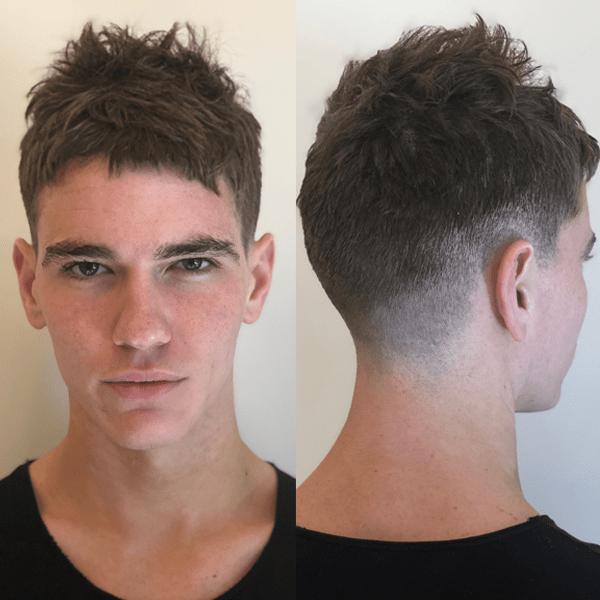 American Crew Paul Wilson Men's Iconic Haircut How To Razor Cut Texture Low Taper Fade