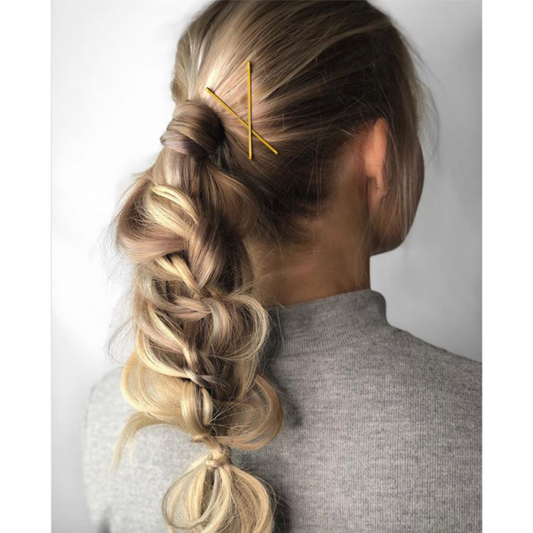 Holiday Updo Styling How To Instagram Video Annette Waligora @annette_updo_artist Alterna Haircare