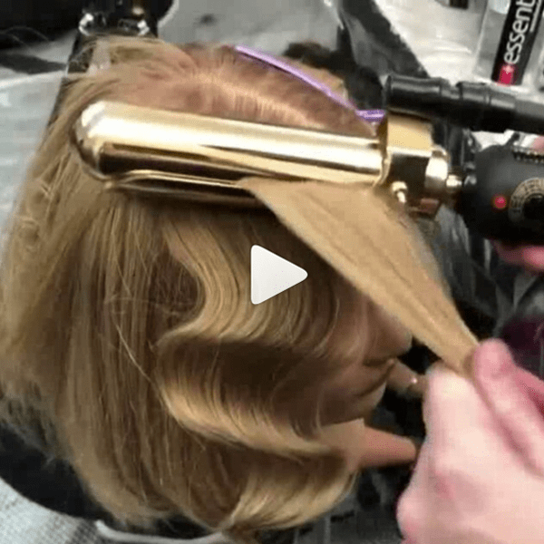 Quick hairstyling video tutorial gallery.