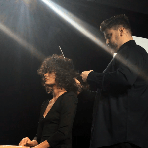 Tony caldwell, haircut, event, oribe, curly hair
