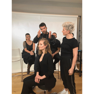 Ammon carver, auditions, hairstyling, facebook live