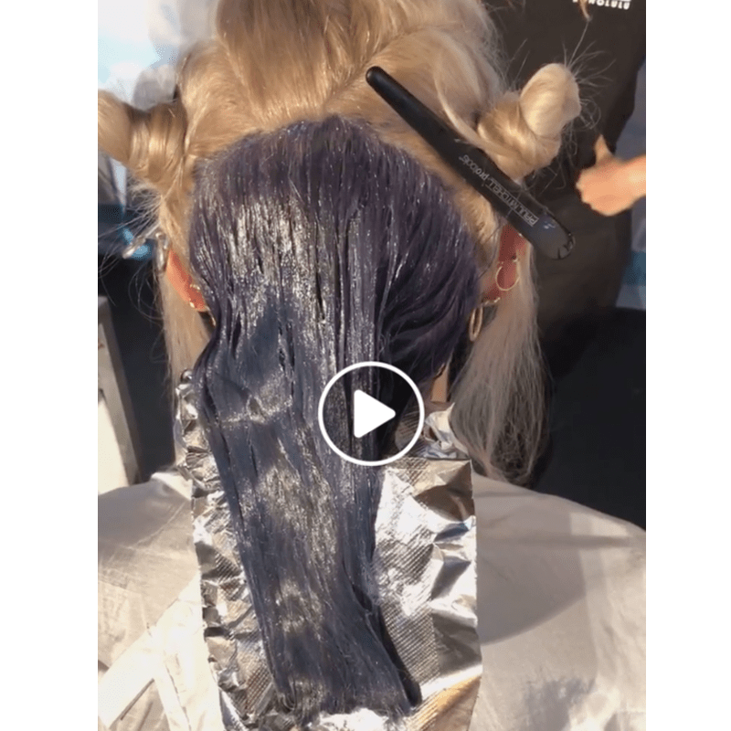 Paul Mitchell Facebook Live Muted Metallic Collection Toning Techniques Colin Caruso Mary Cuomo Heather Ka'anoi Chelsea Litchfield Lavender