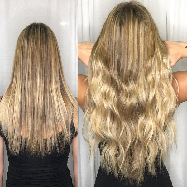 Alicia Iannone @liciebaby hairtalk How To Properly Prep Hair For Extensions Tips