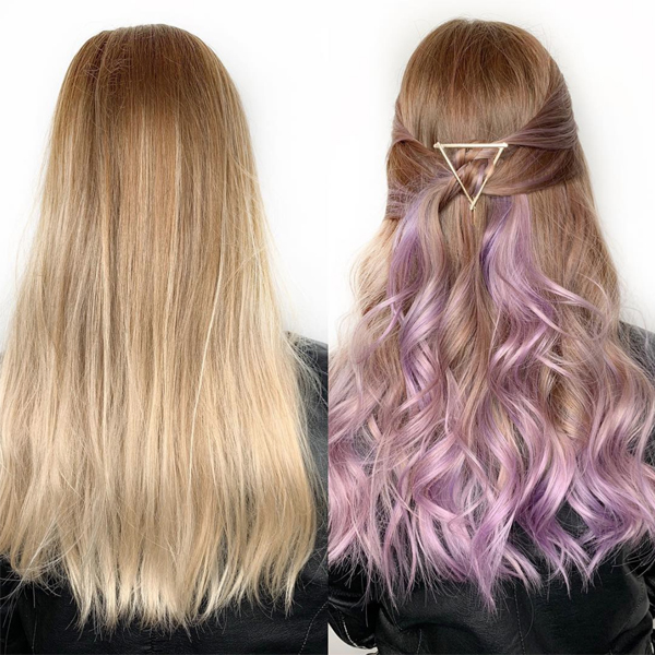 Festival Hair 3 Quick Ways To Give Clients Temporary Pastel Haircolor Gina Bianca @iamginabianca Tressa Watercolors Intense Shampoos