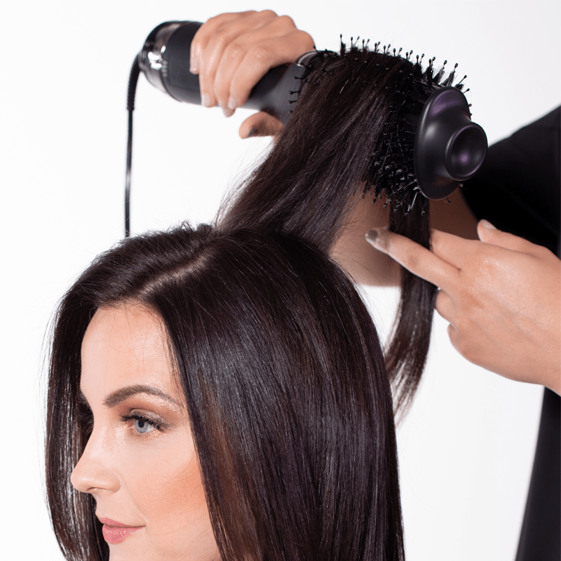 Hot Tools One Step Blowout Hair Dryer How To