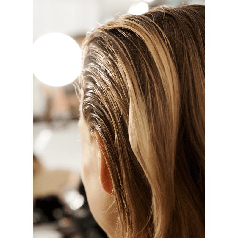 New York Fashion Week Hair Model Trend Wet Look
