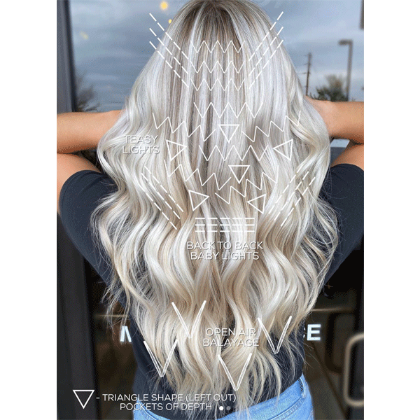blonde, long hair, balayage, haircolor