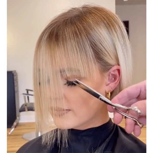5 Fringe Cutting Tips For Soft Natural Bangs Behindthechair Com