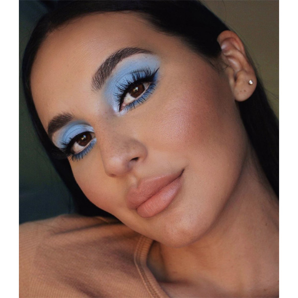 Fall 2020 Makeup Trends Eyeshadow Eyeliner Liner Lips Lipstick Blush Glowy Skin Fluffy Brows